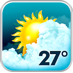 Download Animated Weather Widget, Clock APK