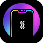 Cover Image of Download Edge Lighting Colors - Round Colors Galaxy APK
