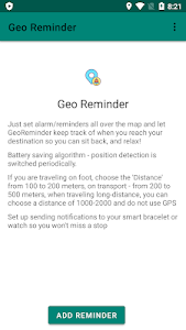 Download GeoReminder - GPS alert APK