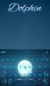 Download Dolphin Animated Keyboard + Live Wallpaper APK